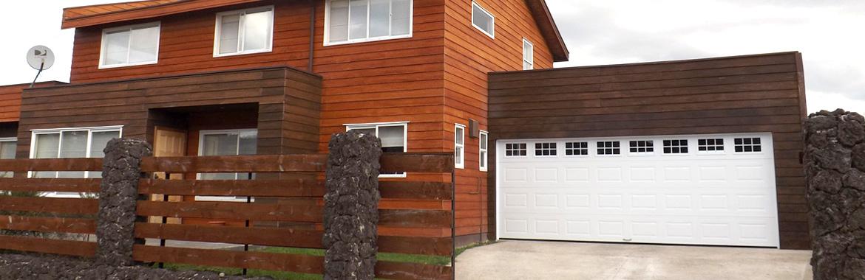 portones patagonia, puertas de garage en chile